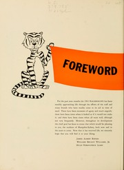Page 8, 1961 Edition, Hampden Sydney College - Kaleidoscope Yearbook (Hampden Sydney, VA) online yearbook collection