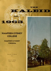 Page 6, 1963 Edition, Hampden Sydney College - Kaleidoscope Yearbook (Hampden Sydney, VA) online yearbook collection
