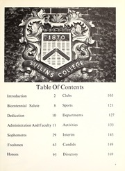 Page 13, 1976 Edition, Sullins College - Sampler Yearbook (Bristol, VA) online yearbook collection
