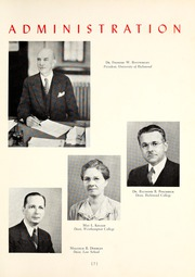 Page 13, 1941 Edition, University of Richmond - Web Yearbook (Richmond, VA) online yearbook collection