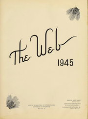 Page 3, 1945 Edition, University of Richmond - Web Yearbook (Richmond, VA) online yearbook collection