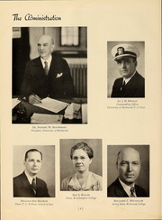 Page 6, 1945 Edition, University of Richmond - Web Yearbook (Richmond, VA) online yearbook collection