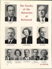 Page 10, 1948 Edition, University of Richmond - Web Yearbook (Richmond, VA) online yearbook collection