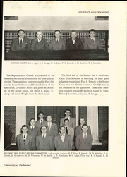 Page 127, 1949 Edition, University of Richmond - Web Yearbook (Richmond, VA) online yearbook collection