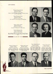 Page 132, 1949 Edition, University of Richmond - Web Yearbook (Richmond, VA) online yearbook collection