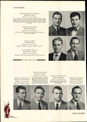Page 134, 1949 Edition, University of Richmond - Web Yearbook (Richmond, VA) online yearbook collection