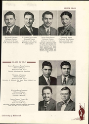 Page 135, 1949 Edition, University of Richmond - Web Yearbook (Richmond, VA) online yearbook collection