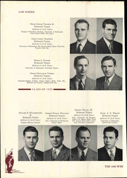 Page 136, 1949 Edition, University of Richmond - Web Yearbook (Richmond, VA) online yearbook collection