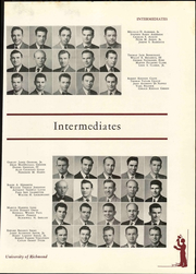 Page 137, 1949 Edition, University of Richmond - Web Yearbook (Richmond, VA) online yearbook collection