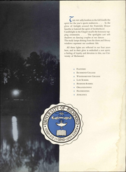 Page 9, 1952 Edition, University of Richmond - Web Yearbook (Richmond, VA) online yearbook collection