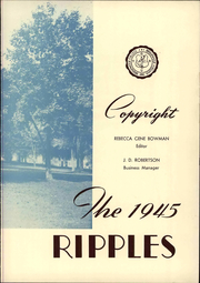 Page 9, 1945 Edition, Bridgewater College - Ripples Yearbook (Bridgewater, VA) online yearbook collection