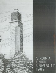 1969 Edition, Virginia Union University - Panther Yearbook (Richmond, VA)