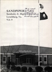 Page 5, 1975 Edition, Sandusky Middle School - Sandpiper Yearbook (Lynchburg, VA) online yearbook collection