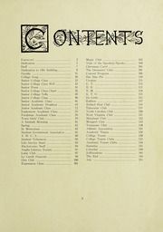 Page 7, 1921 Edition, Blackstone College - Acorn Yearbook (Blackstone, VA) online yearbook collection