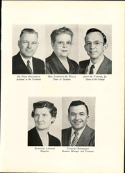 Page 15, 1956 Edition, Lynchburg College - Argonaut Yearbook (Lynchburg, VA) online yearbook collection