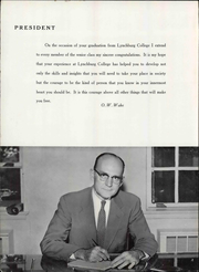 Page 14, 1958 Edition, Lynchburg College - Argonaut Yearbook (Lynchburg, VA) online yearbook collection