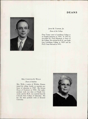 Page 15, 1958 Edition, Lynchburg College - Argonaut Yearbook (Lynchburg, VA) online yearbook collection