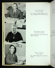 Page 16, 1964 Edition, Lynchburg College - Argonaut Yearbook (Lynchburg, VA) online yearbook collection