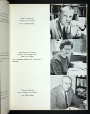 Page 17, 1964 Edition, Lynchburg College - Argonaut Yearbook (Lynchburg, VA) online yearbook collection