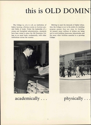Page 12, 1963 Edition, Old Dominion University - Troubador Yearbook (Norfolk, VA) online yearbook collection