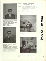 Page 11, 1967 Edition, Shenandoah Bible College - Anathoth Yearbook (Roanoke, VA) online yearbook collection