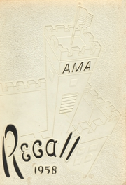 1958 Edition, Augusta Military Academy - Recall Yearbook (Fort Defiance, VA)