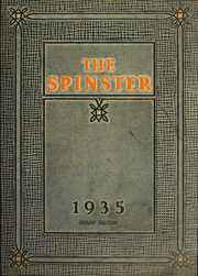 1935 Edition, Hollins University - Spinster Yearbook (Roanoke, VA)