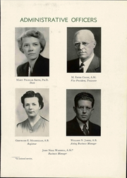 Page 15, 1945 Edition, Hollins University - Spinster Yearbook (Roanoke, VA) online yearbook collection