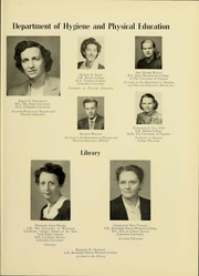 Page 17, 1950 Edition, Hollins University - Spinster Yearbook (Roanoke, VA) online yearbook collection