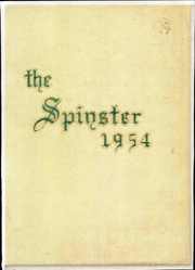 1954 Edition, Hollins University - Spinster Yearbook (Roanoke, VA)