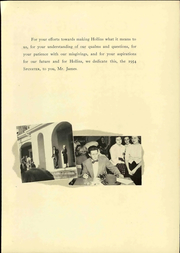 Page 15, 1954 Edition, Hollins University - Spinster Yearbook (Roanoke, VA) online yearbook collection