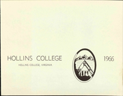 Page 7, 1966 Edition, Hollins University - Spinster Yearbook (Roanoke, VA) online yearbook collection