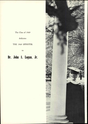Page 14, 1969 Edition, Hollins University - Spinster Yearbook (Roanoke, VA) online yearbook collection