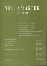 Page 8, 1969 Edition, Hollins University - Spinster Yearbook (Roanoke, VA) online yearbook collection