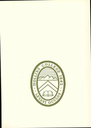 Page 9, 1969 Edition, Hollins University - Spinster Yearbook (Roanoke, VA) online yearbook collection