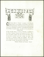 Page 13, 1914 Edition, Roanoke High School - Acorns Yearbook (Roanoke, VA) online yearbook collection