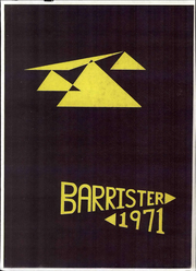 1971 Edition, University of Virginia Law School - Barrister Yearbook (Charlottesville, VA)