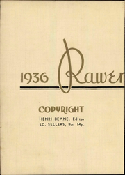 Page 8, 1936 Edition, Roanoke College - Rawenoch Yearbook (Salem, VA) online yearbook collection