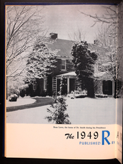 Page 8, 1949 Edition, Roanoke College - Rawenoch Yearbook (Salem, VA) online yearbook collection