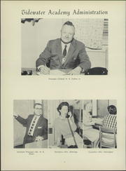 Page 12, 1959 Edition, Tidewater Academy - Mariner Yearbook (Wakefield, VA) online yearbook collection