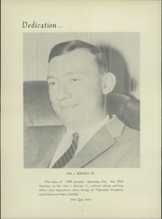 Page 8, 1959 Edition, Tidewater Academy - Mariner Yearbook (Wakefield, VA) online yearbook collection