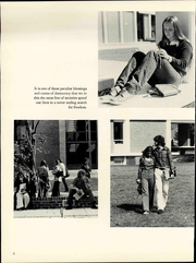 Page 12, 1976 Edition, George Mason University - Advocate Yearbook (Fairfax, VA) online yearbook collection