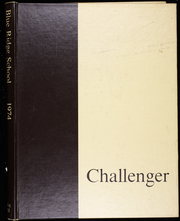 Page 1, 1974 Edition, Blue Ridge School - Challenger Yearbook (St George, VA) online yearbook collection