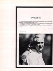 Page 6, 1974 Edition, Blue Ridge School - Challenger Yearbook (St George, VA) online yearbook collection