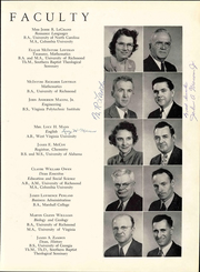 Page 15, 1949 Edition, Bluefield College - Rambler Yearbook (Bluefield, VA) online yearbook collection