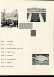 Page 9, 1969 Edition, Bluefield College - Rambler Yearbook (Bluefield, VA) online yearbook collection