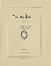 Page 4, 1902 Edition, Randolph Macon College - Yellow Jacket Yearbook (Ashland, VA) online yearbook collection