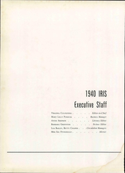 Page 16, 1940 Edition, Stratford College - Iris Yearbook (Danville, VA) online yearbook collection