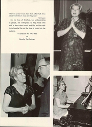 Page 9, 1967 Edition, Stratford College - Iris Yearbook (Danville, VA) online yearbook collection