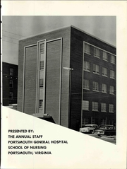 Page 9, 1963 Edition, Portsmouth General Hospital School of Nursing - Lamp Yearbook (Portsmouth, VA) online yearbook collection